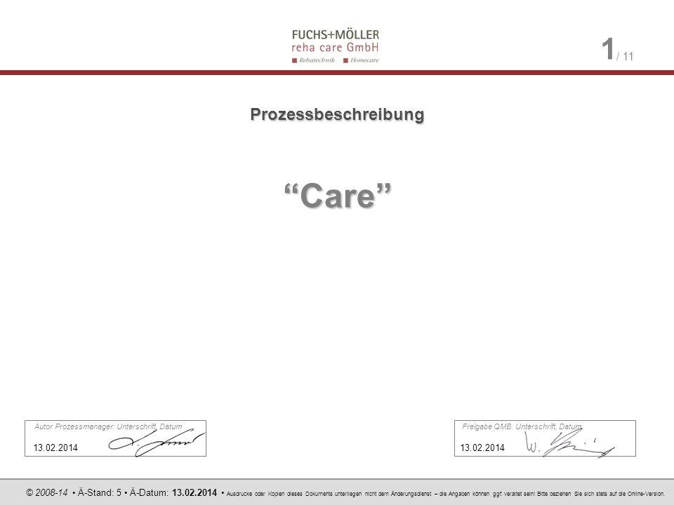 © 2008-14 Ä-Stand: 5 Ä-Datum: 13.02.2014 Ausdrucke oder Kopien dieses Dokuments unterliegen nicht dem Änderungsdienst – die Angaben können ggf.