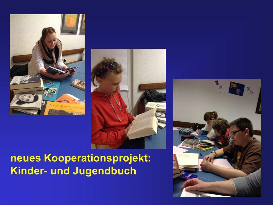 neues Kooperationsprojekt: Kinder- und Jugendbuch