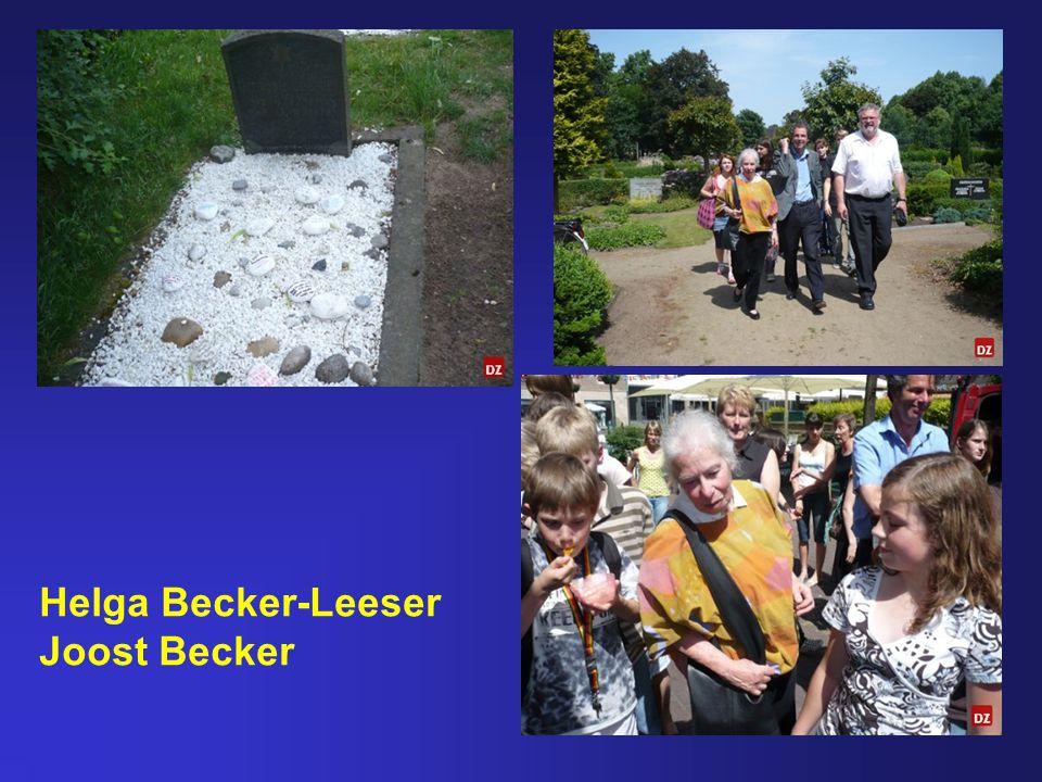 Helga Becker-Leeser Joost Becker