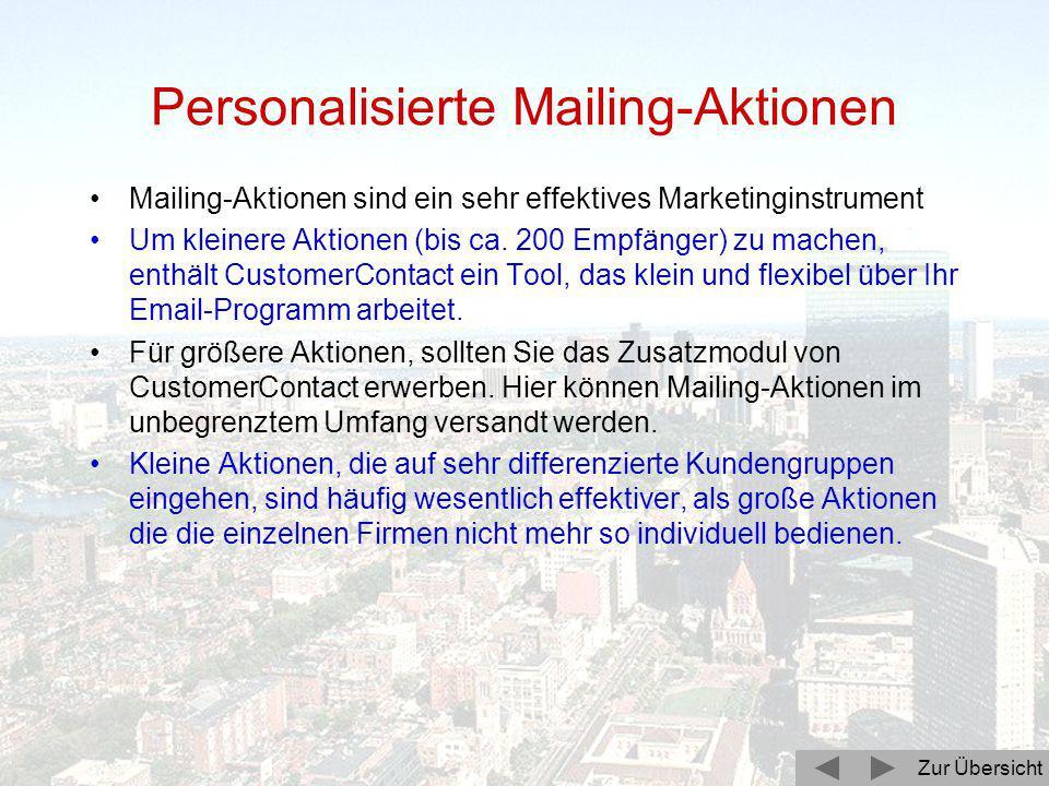 Zur Übersicht Zuordnungen und Verknüpfungen Ein lange ersehntes Feature ist in CustomerContact 3.1 jetzt realisiert. Zuordnungen sind beliebige Begrif