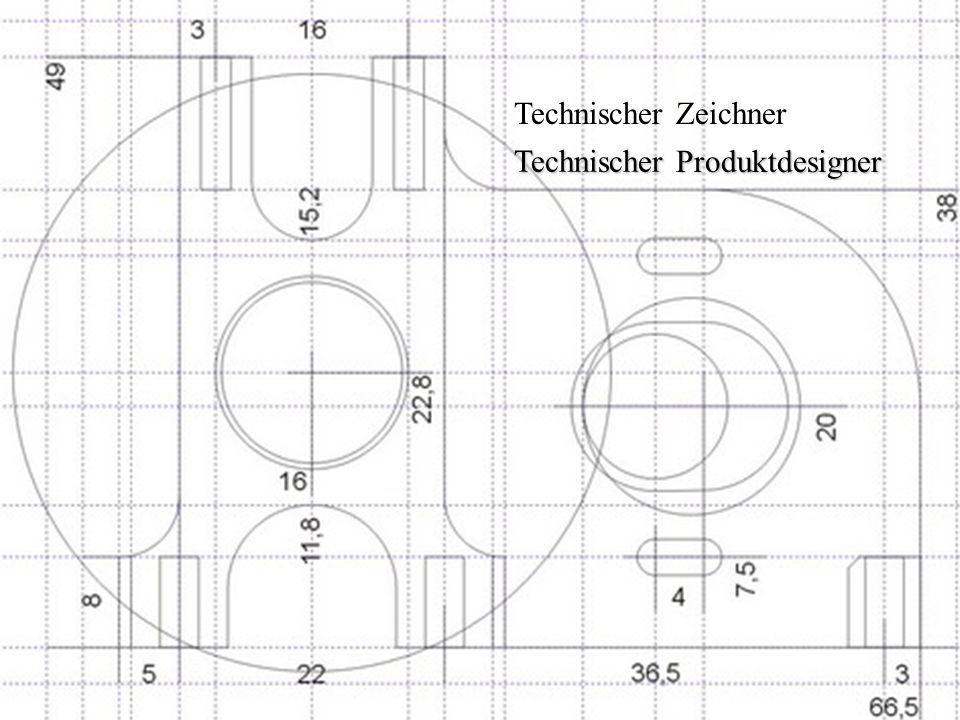 Technischer Zeichner 29.03.2012Von Annika Hieber und Jana Moog1 Technischer Zeichner Technischer Produktdesigner