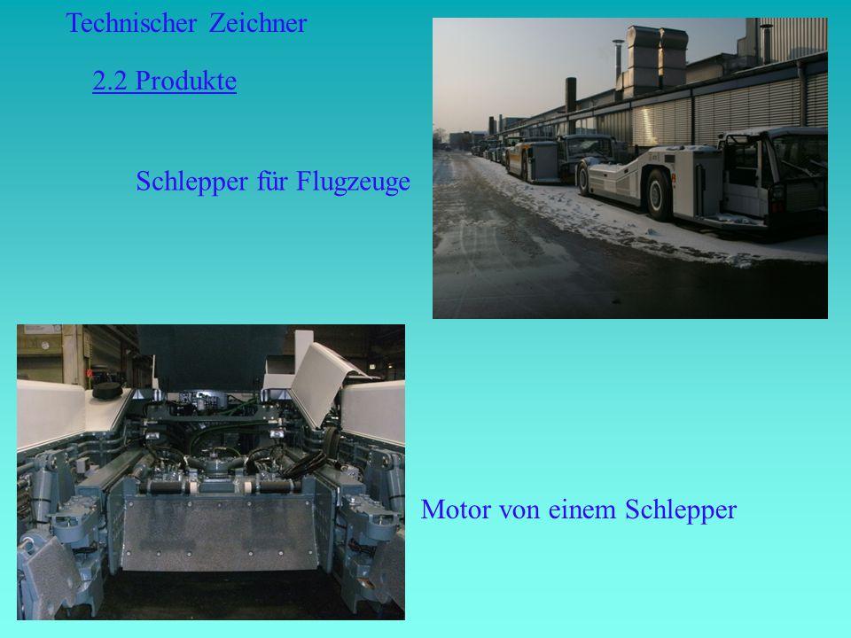Technischer Zeichner Schlepper für Flugzeuge Motor von einem Schlepper 2.2 Produkte