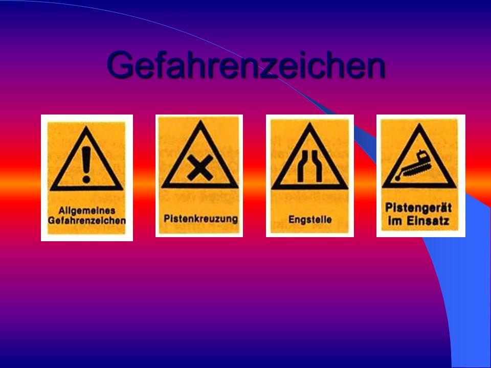 Gefahrenzeichen