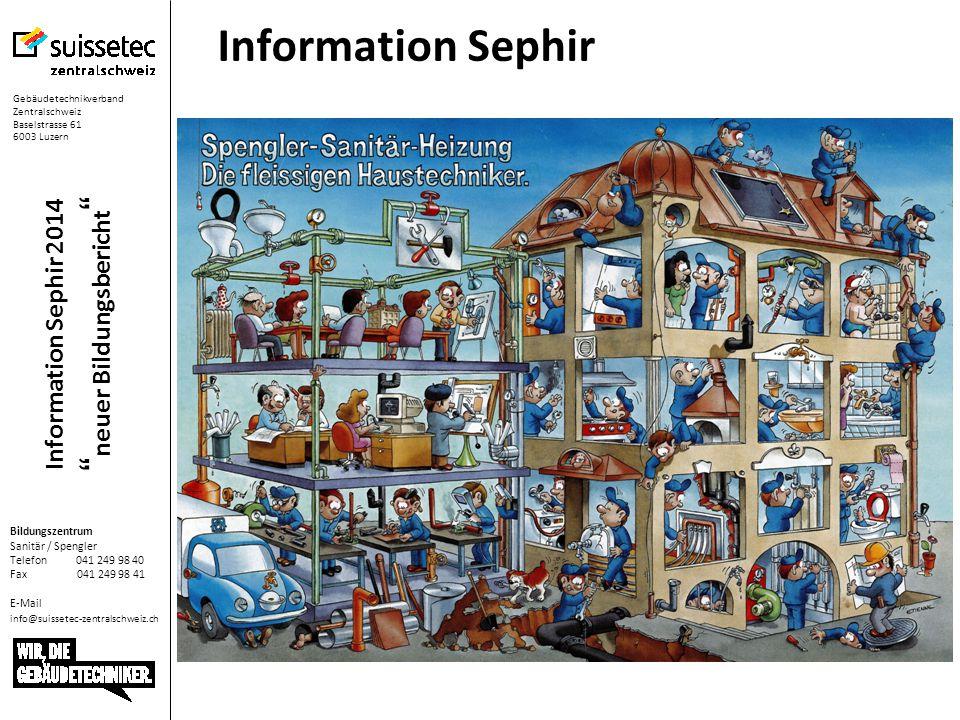 Information Sephir 2014 neuer Bildungsbericht Bei mehreren Lernenden im gleichen Lehrjahr kann die Planung / Anpassung Leistungsziele im Bildungsplan Vorlagen erfolgen und später kopiert werden.