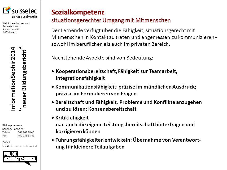 Information Sephir 2014 neuer Bildungsbericht  Eigene anklicken  Bildungsplan: Ergänzen mit E I G E N E N Leistungszielen