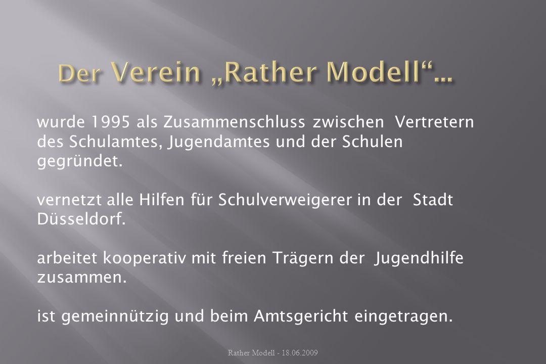 Jugendberufshilfe Düsseldorf Diakonie Verband BBZ AWO SchulamtJugendamt Hauptschulen Förderschulen Caritas Rather Modell - 18.06.2009