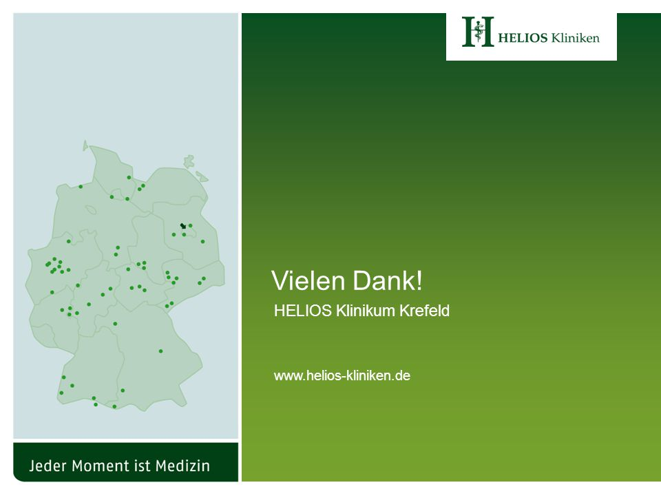 44 Grazer Impftag 2011HELIOS Klinikum Krefeld www.helios-kliniken.de Vielen Dank.