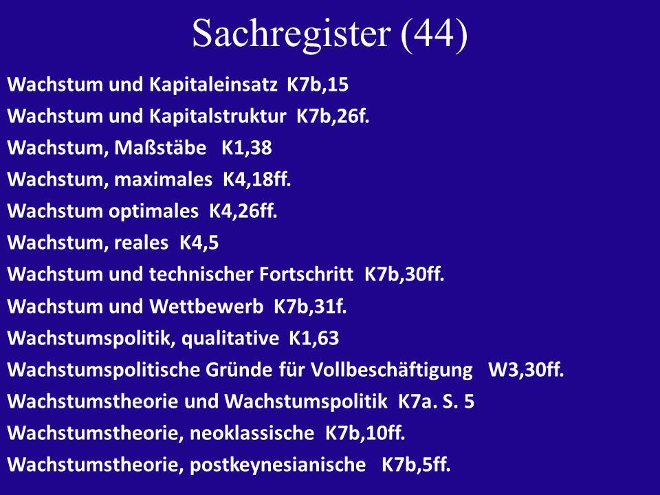 Sachregister (45) Währungskrise, Ursachen A2,18 Währungsschlange im Tunnel A2,20 Währungsunion A11,90ff.