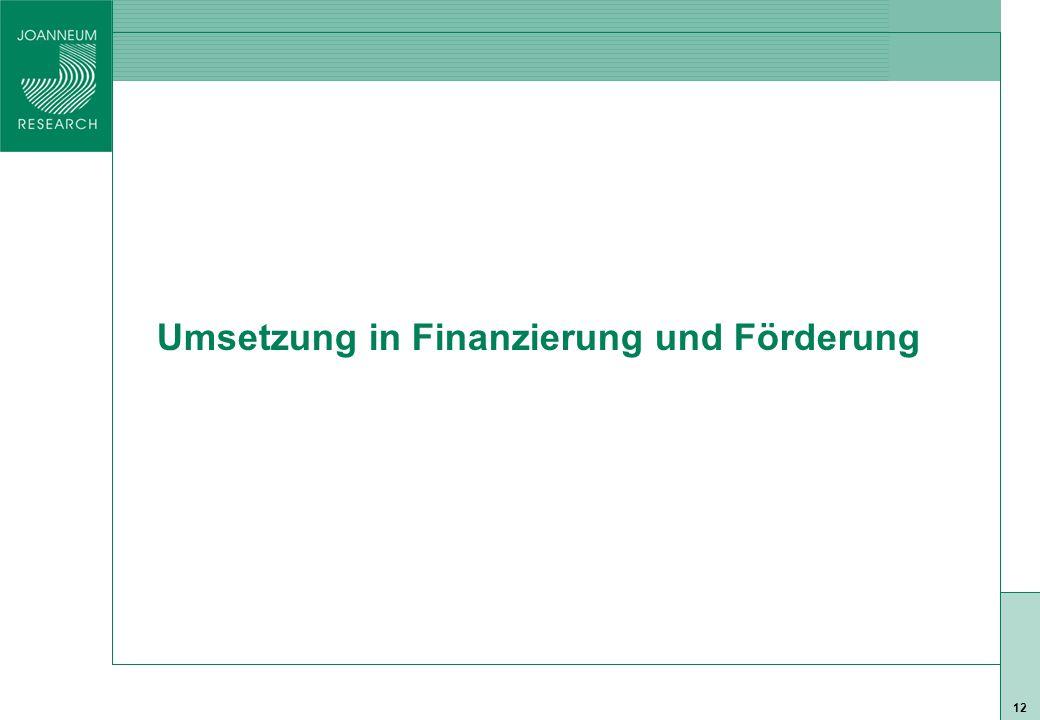 ISO 9001 zert 12 Umsetzung in Finanzierung und Förderung