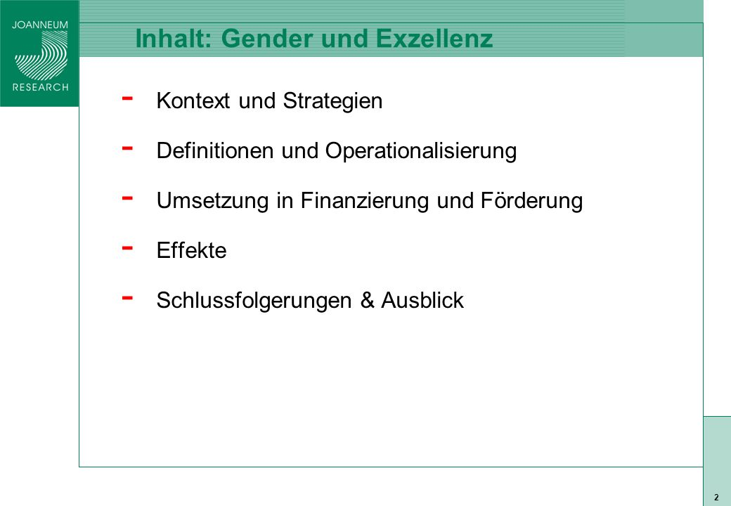 ISO 9001 zert 23 Gender Bias in Auswahlverfahren: ERC I