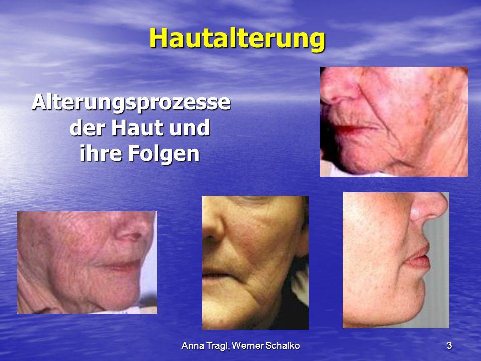 Anna Tragl, Werner Schalko3Hautalterung Alterungsprozesse der Haut und ihre Folgen
