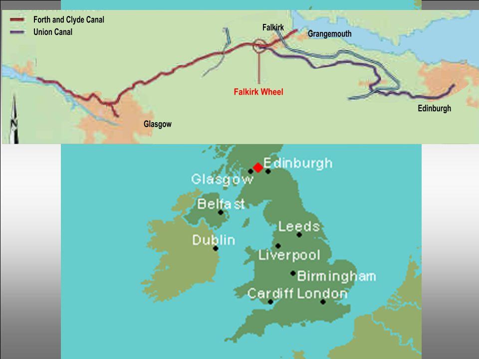 Eine schottische Geschichte Zwischen den Häfen von Grangemouth und Falkirk wurde 1777, le canal de Forth & Clyde, gebaut zum Anschluss von Glasgow an der Ostküste nach Schottland.