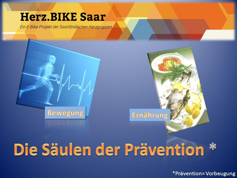 Herz.BIKE Saar Messgrößen Ausdauertraining – Blutdruck (systolisch / diastolisch) Ruhe-Blutdruck 70: 150/90) Maximal-Blutdruck (Ergometerbelastung) 100 W <= 200 mm Hg (systolisch)