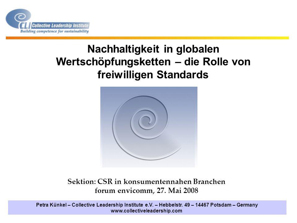 www.collectiveleadership.com Kontakt: Petra Kuenkel, Vorstand petra.kuenkel@collectiveleadership.com Hebbelstrasse 49, 14467 Potsdam Tel.