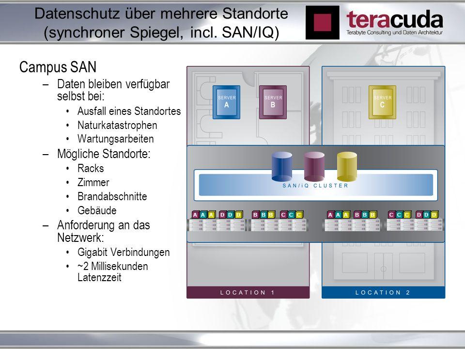 Datenschutz über mehrere Standorte (synchroner Spiegel, incl.