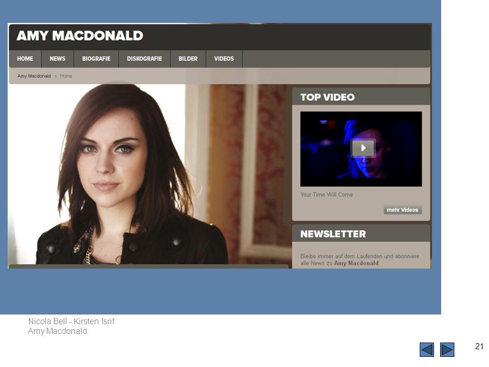 Nicola Bell - Kirsten Isrif Amy Macdonald 21