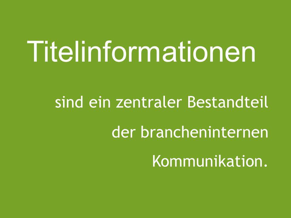Zwischen- buchhandel Zwischen- buchhandel Verlage Buchhandel Bestellung/Remission (EDV, E-Mail, Tel., Fax) Bestellung/Remission (EDV, E-Mail, Tel., Fax) (VLB, E-Mail, EDV) Titelinfos Social Media) Mailing, (VLB, Vorschau, Homepage, Leseexemplar, Vertreterbesuch, Buchmessen, Anzeigen / Beilagen, Titelinfos Kataloge, (Titeldatenbank, Kundenmagazin) Titelanfragen Tel., Fax, (E-Mail, Buchmessen) Bestellung/Remission (E-Mail, Tel., Fax, Homepage) Titelinfos über BaSo Verzeichnis) (Mailing, Vorschau,