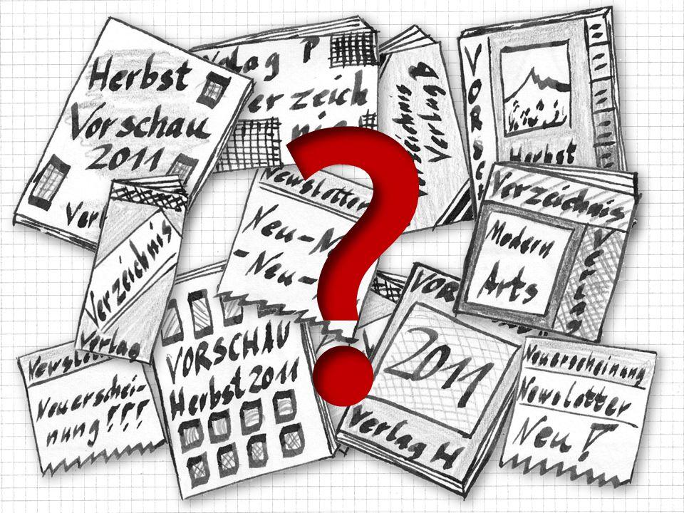 Ohne von der zu werden Information sflut erschlagen