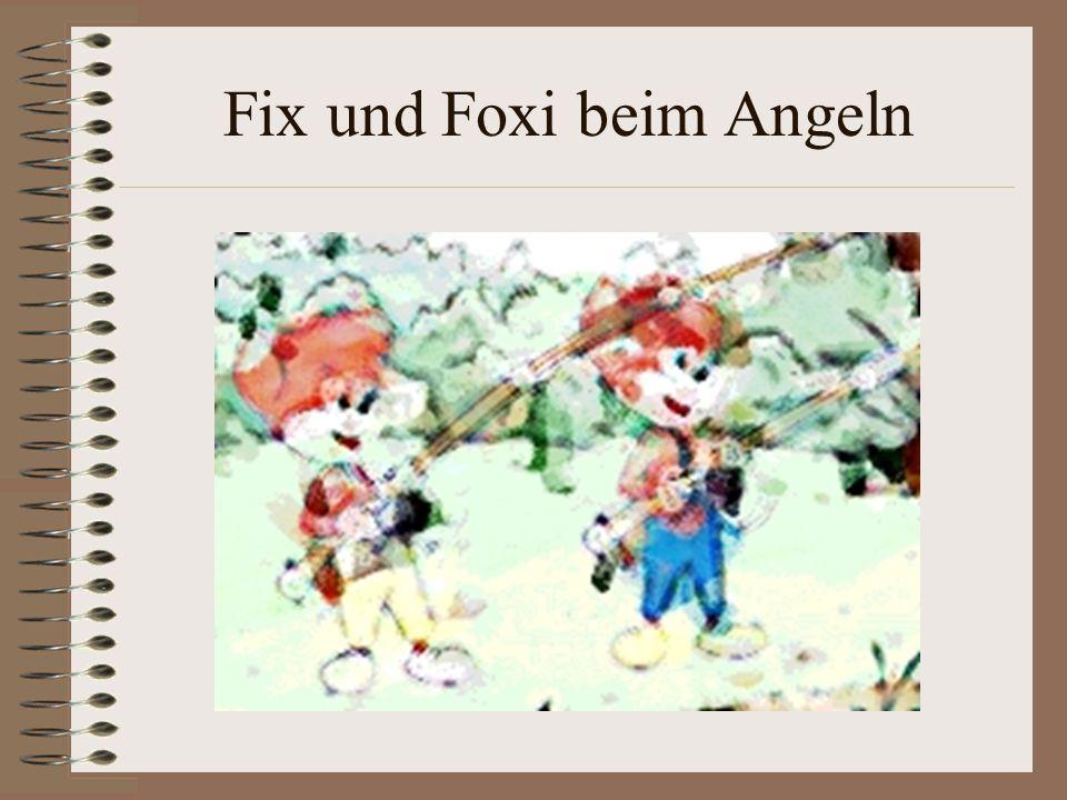 Fix und Foxi beim Angeln