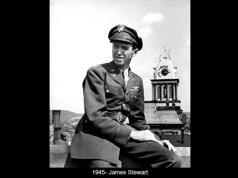 1945- James Stewart