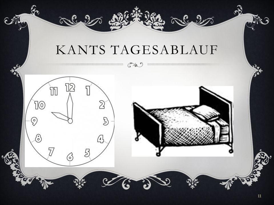 KANTS TAGESABLAUF 11