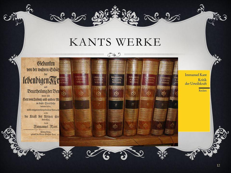 KANTS WERKE 12