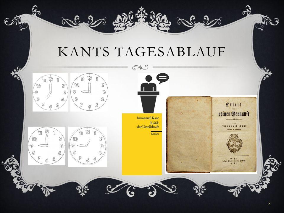 KANTS TAGESABLAUF 8