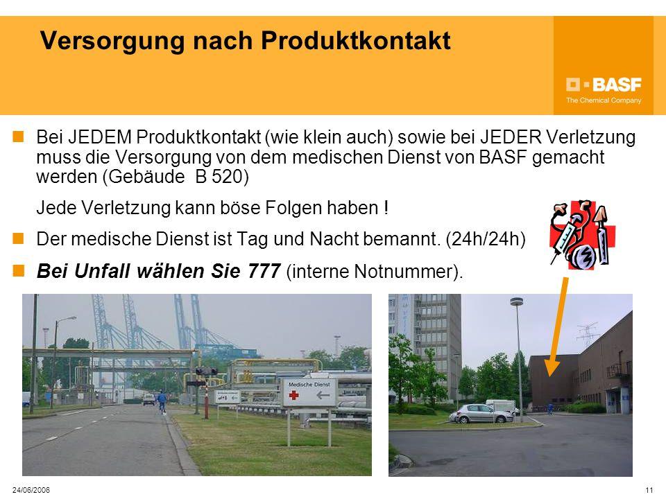 24/06/2006 10 Bedienung von Not- und Augenbrausen Gehen Sie wie folgt vor: 12 1.Drücken Sie den ROTEN Hebel.