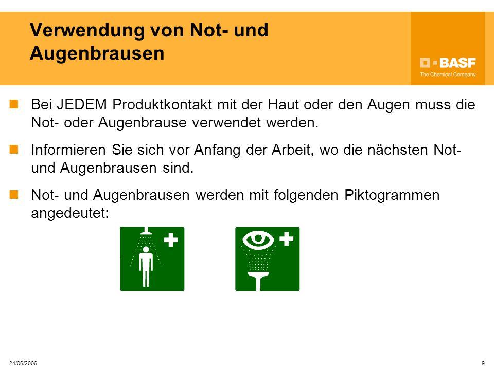 24/06/2006 29 B- Erlaubnis (Befahrererlaubnis Ein B-Erlaubnis ist erforderlich für das Befahren von Behältern, Kolonnen oder anderen engen Räumen.