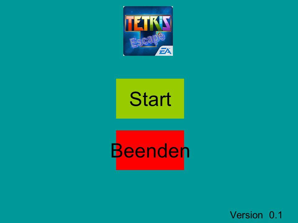 Version 0.1 Start Beenden