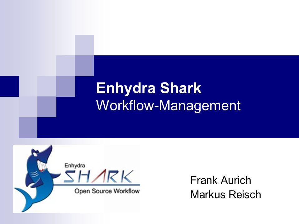 CGA: Workflow-Management2 Gliederung Enhydra Shark Werkzeug-Demonstration Einordnung in das Gebiet der CGA CSCW-Kriterien Bewertung