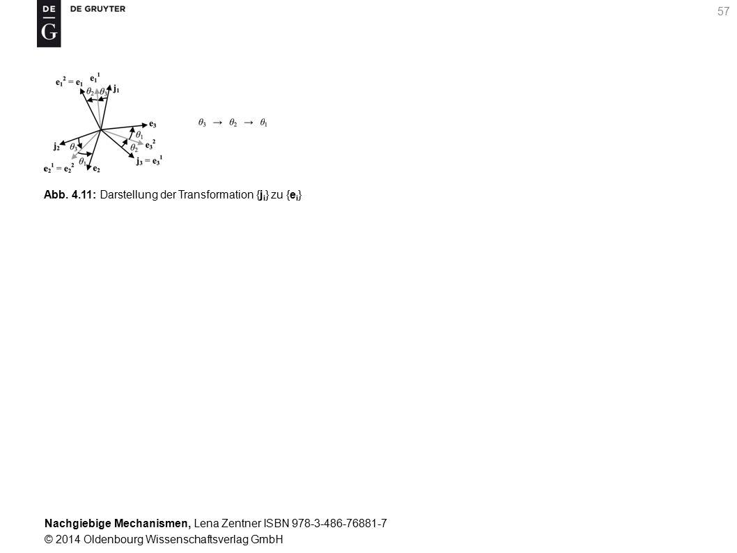 Nachgiebige Mechanismen, Lena Zentner ISBN 978-3-486-76881-7 © 2014 Oldenbourg Wissenschaftsverlag GmbH 57 Abb.