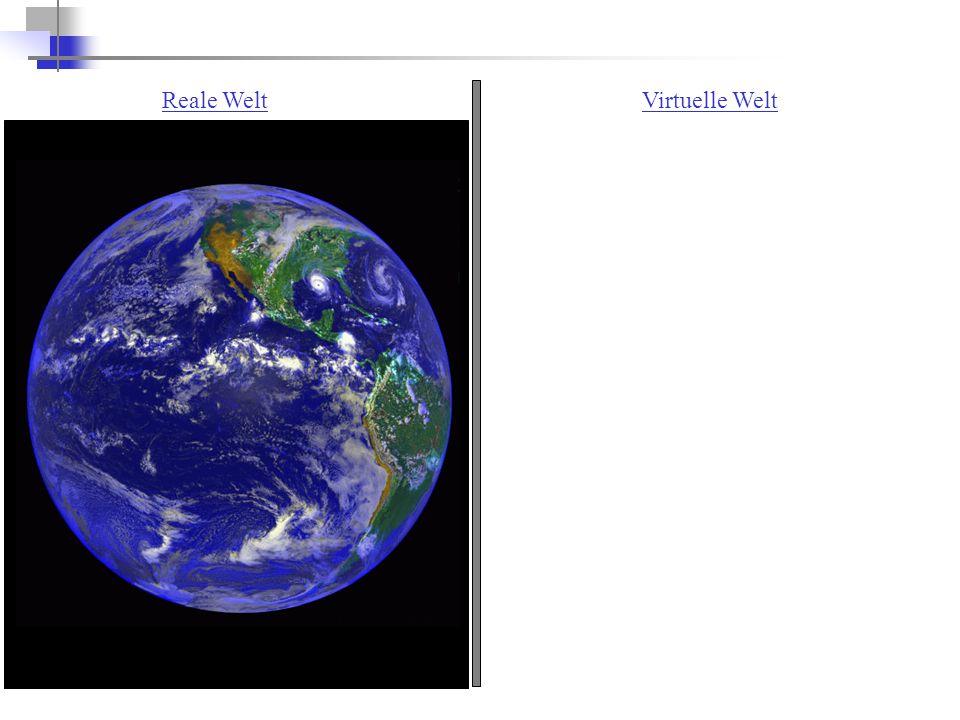 Reale WeltVirtuelle Welt
