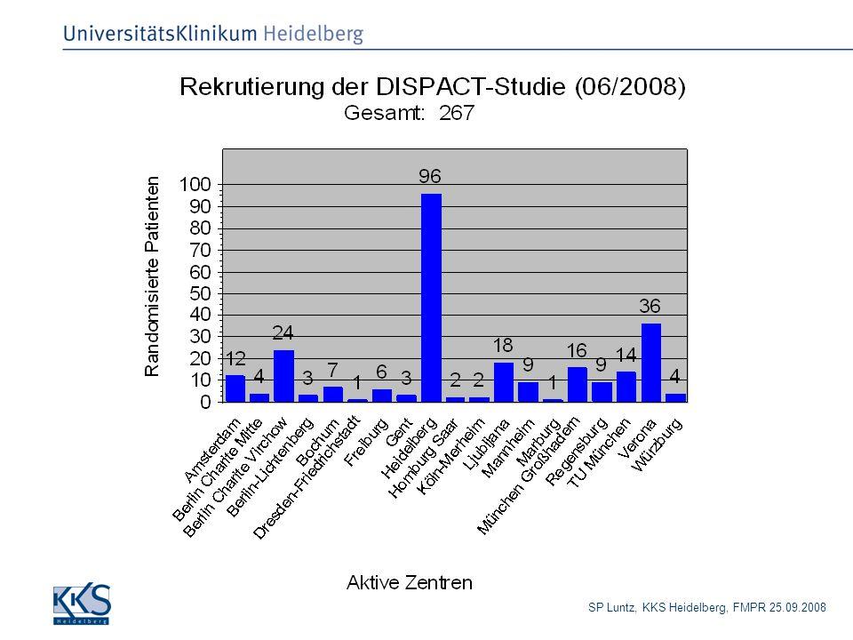 SP Luntz, KKS Heidelberg, FMPR 25.09.2008 Rekrutierungszahlen