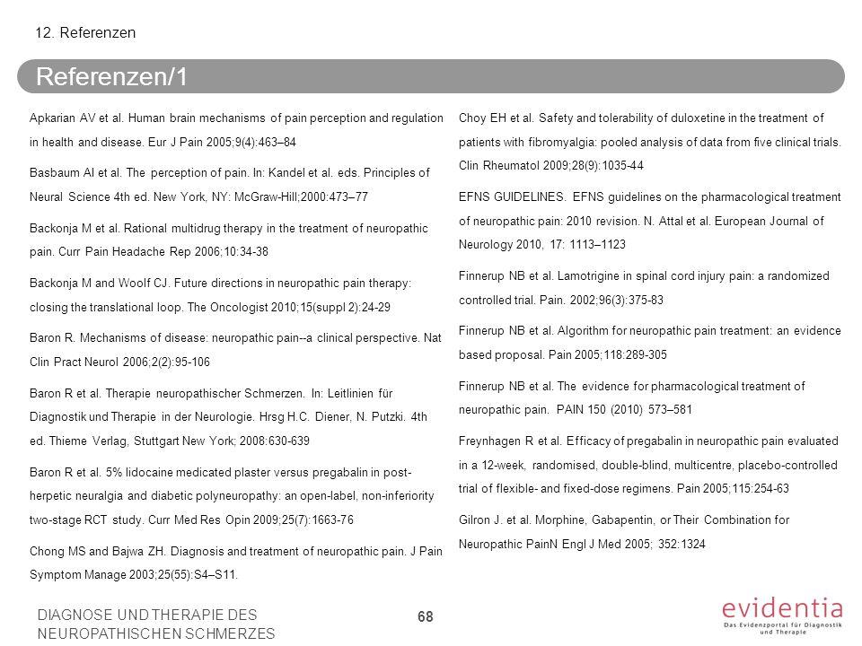 Referenzen/1 Apkarian AV et al.