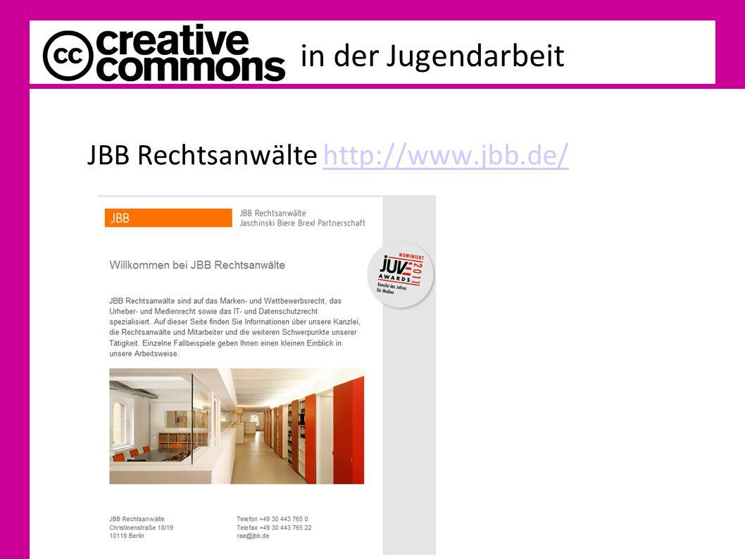 JBB Rechtsanwälte http://www.jbb.de/http://www.jbb.de/