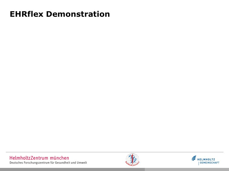 EHRflex Demonstration