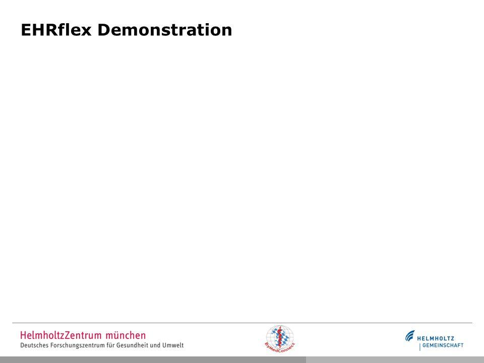 Zusammenfassung und Ausblick Archetypen können direkt genutzt werden Visualisierung von Archetypen in Formularen (Workshop in Valencia) Standardkonforme Dokumentation von medizinischen Daten Grundlage fürs Cockpit Weiterentwicklung der Interaktionsmöglichkeiten Editier-Modus Kommunikationsschnittstellen zu Transformationsmodul und Netzwerk openEHR / HL 7 Integration (externe Arbeiten)