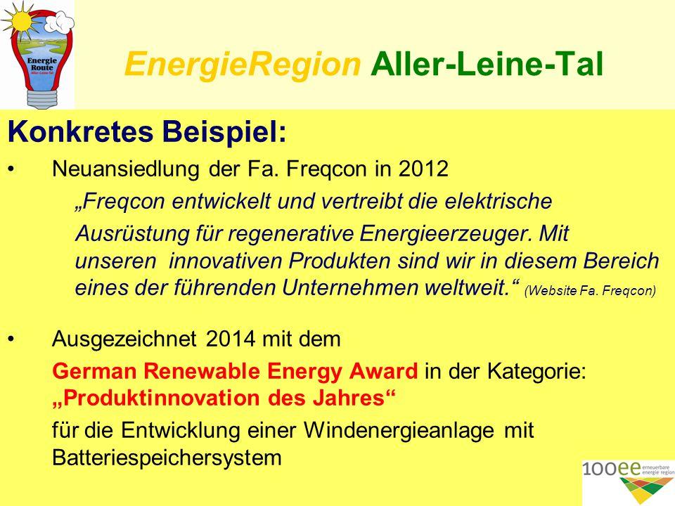 EnergieRegion Aller-Leine-Tal 3.ZDF (Zahlen – Daten – Fakten) im A.L.T.