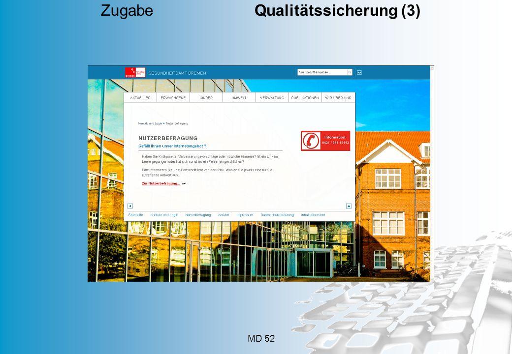 MD 52 Zugabe Qualitätssicherung (3)