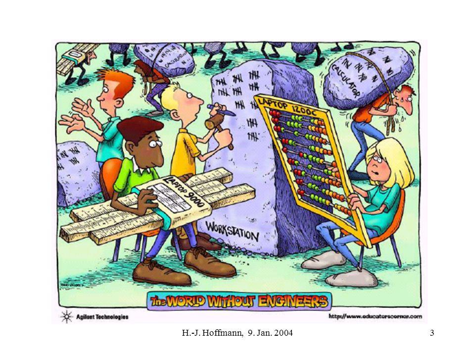 H.-J.Hoffmann, 9. Jan. 200454 Es ist nicht nur die Softwarekrise .