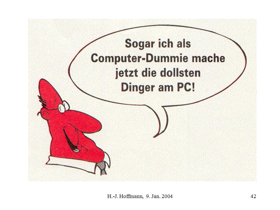 H.-J. Hoffmann, 9. Jan. 200442