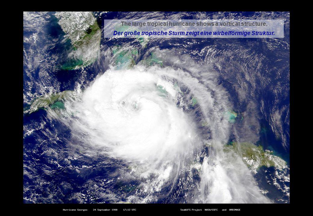 ISFV12, Public Lecture – W. Send, The Da Vinci Vortex 14 (30) Understanding flight – Fliegen verstehen The large tropical hurricane shows a vortical s