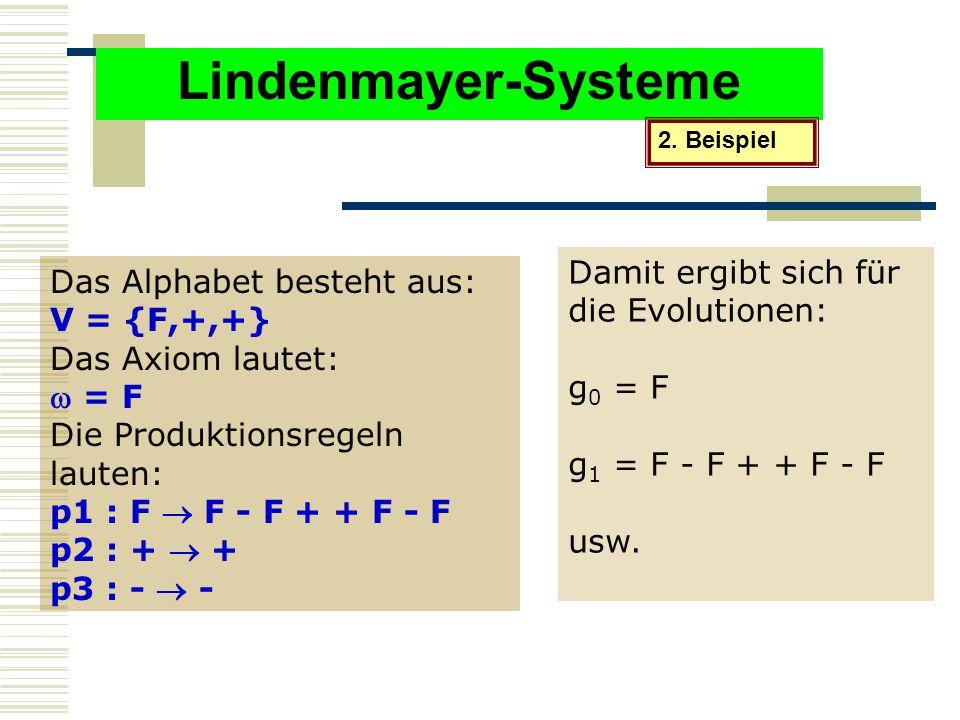 Lindenmayer-Systeme 2.