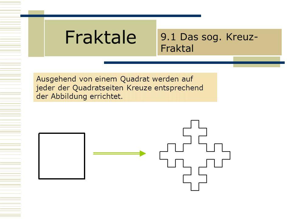 Fraktale 9.1 Das sog.