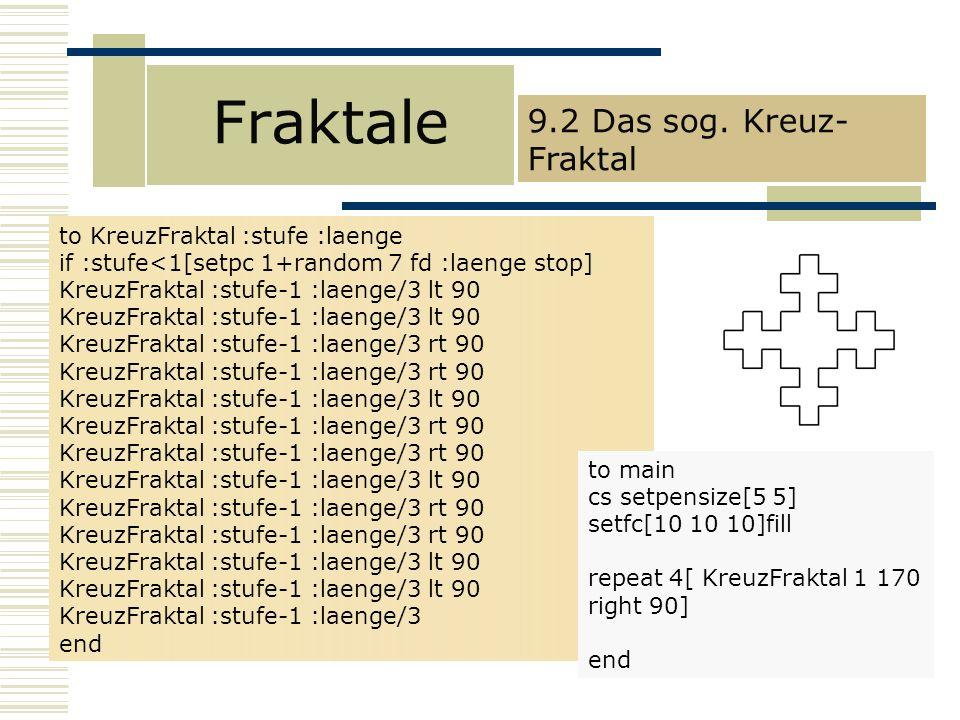 Fraktale 9.2 Das sog.