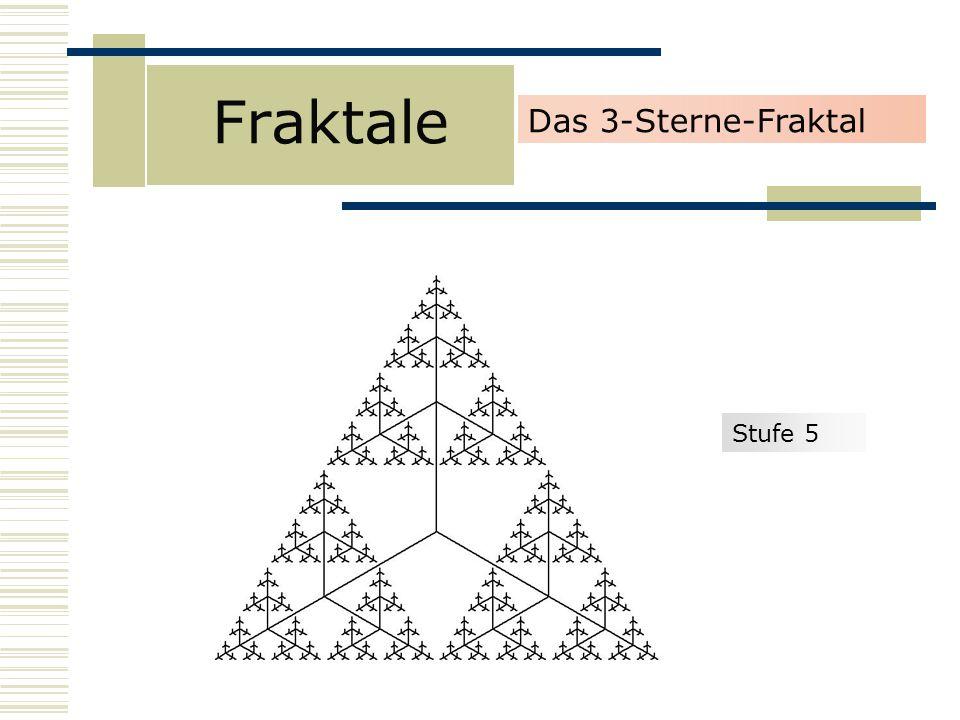 Fraktale Stufe 5 Das 3-Sterne-Fraktal