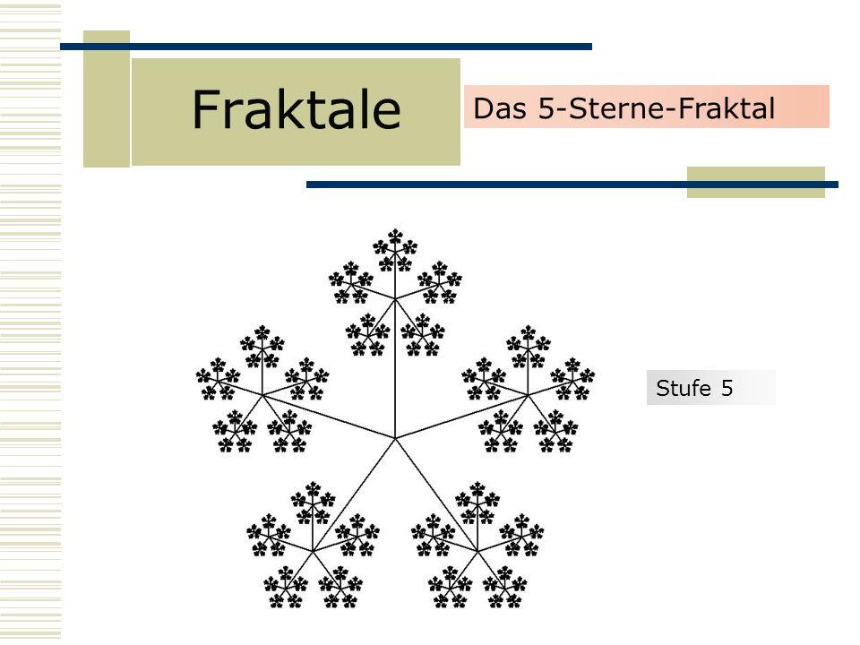 Fraktale Stufe 5 Das 5-Sterne-Fraktal