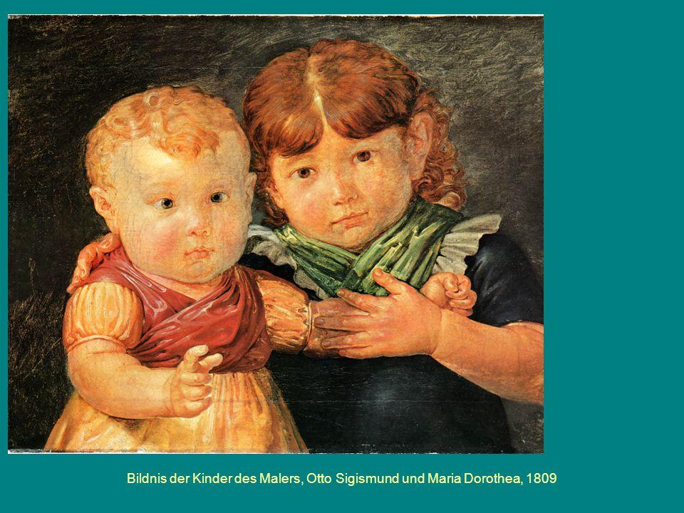Bildnis der Kinder des Malers, Otto Sigismund und Maria Dorothea, 1809