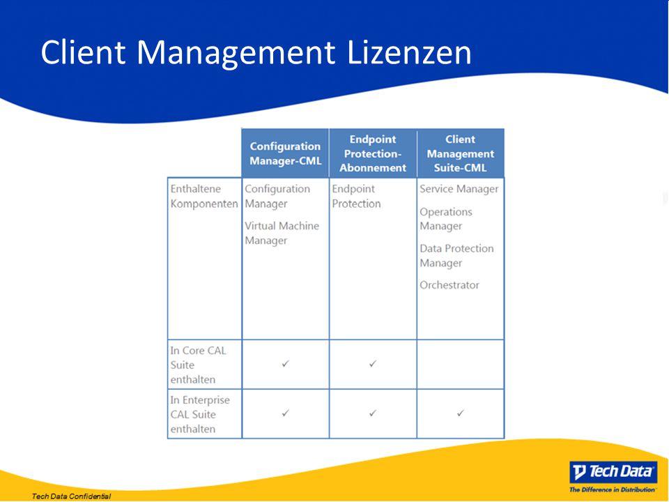 Client Management Lizenzen